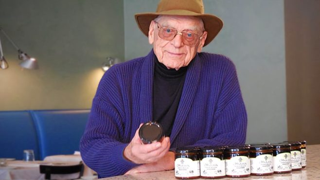 91-year old entrepreneur Earl Fultz is taking on ketchup and other condiments with cHarissa.