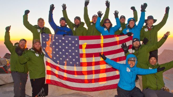 Story Type Indicator - video. The Mission: Mt. Whitney team celebrates their accomplishment