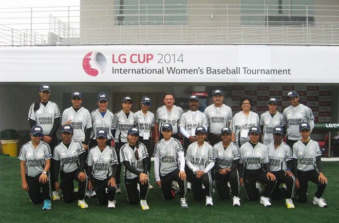 Last year, the Hyderabad Chargers played in an international tournament in Seoul, South Korea.
