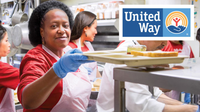 Story Type Indicator - viewpoints. United Way and Wells Fargo are making more holiday meals possible