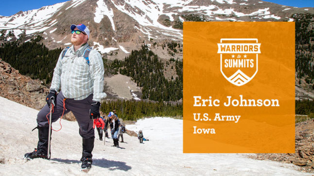 Eric Johnson, of Iowa, is a U.S. Army veteran and a Wells Fargo team member.